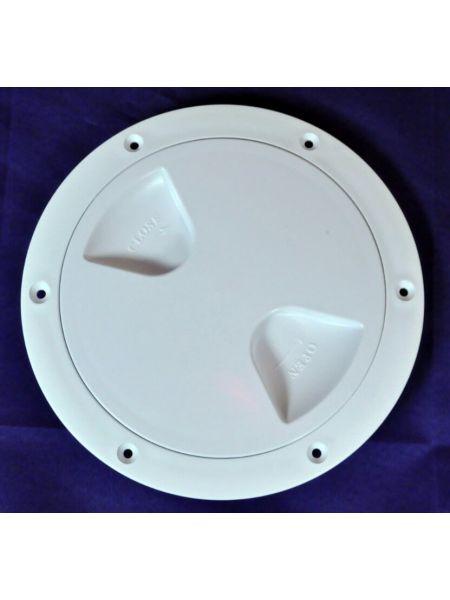 Фото Лючок инспекция диаметр 102 мм белый , Тайвань 13566-WH