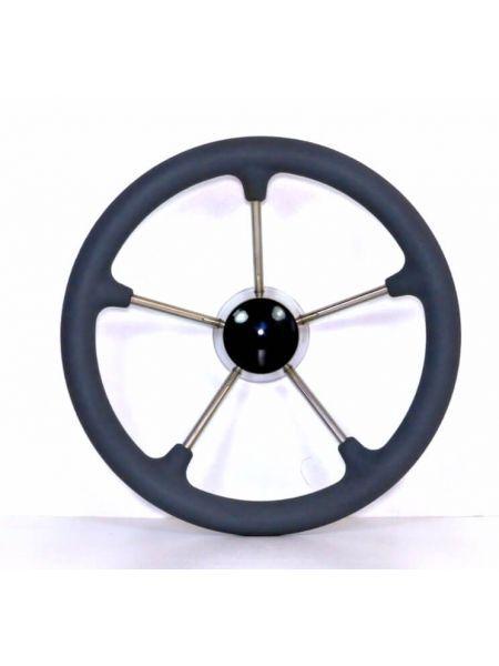 Фото Рулевое колесо 35см нержавейка 87303G