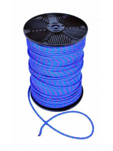 Фото Веревка полипропилен, 6мм, 200м синяя
