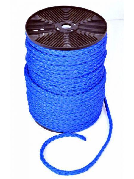 Фото Верёвка нетонущая, 12мм, 100м, синяя
