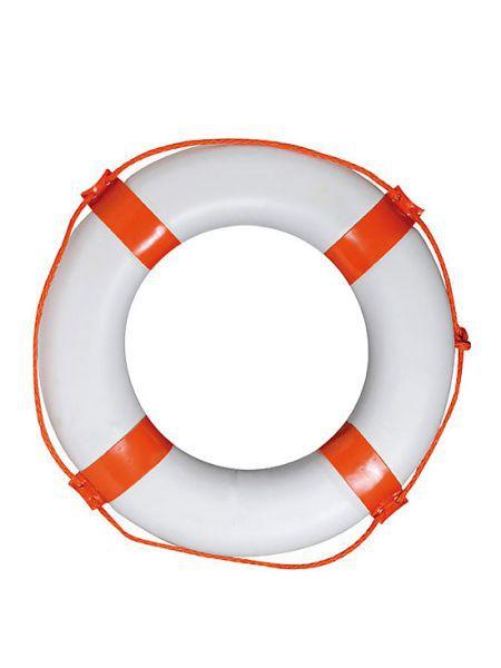 Фото Круг спасательный диаметр 65х40мм красный, 70003