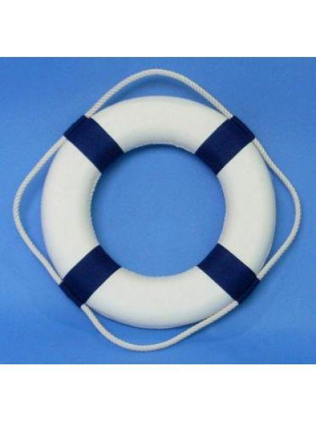 Фото Круг спасательный диаметр 65х40мм синий