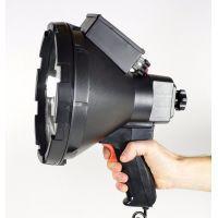 Поисковый прожектор,с ручкой, черный LS517