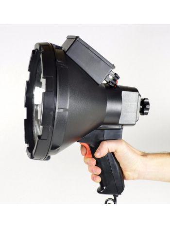 Фото Поисковый прожектор,с ручкой, черный LS517