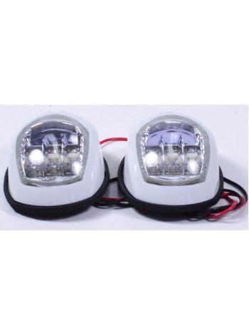 Фото Пара LED навигационных огней, белый , C91006PW-1
