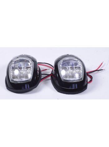 Фото Пара LED навигационных огней, черный , C91006PB-1