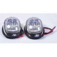 Пара LED навигационных огней, нержавейка, C91006S-1