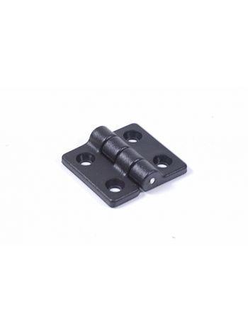 Фото Петля пластиковая, черная, 38х35мм, C12812
