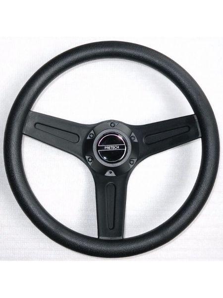 Фото Рулевое колесо PRETECH 32см черное