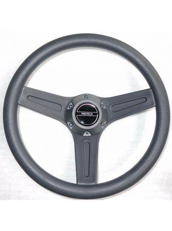 Фото Рулевое колесо PRETECH 32см серое