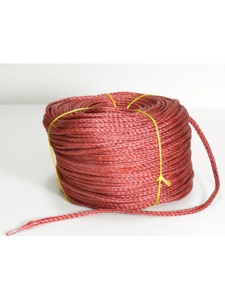 Фото Веревка нетонущая красная, 12мм, 200м