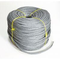 Веревка нетонущая серая, 12мм, 200м