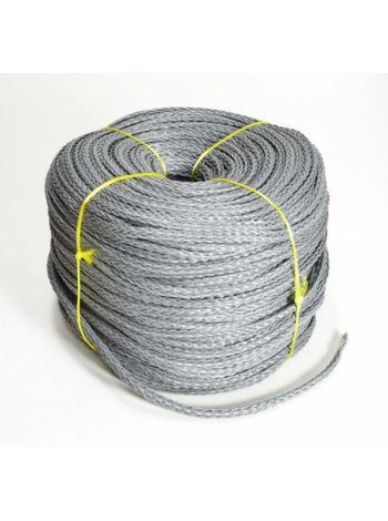 Фото Веревка нетонущая серая, 12мм, 200м