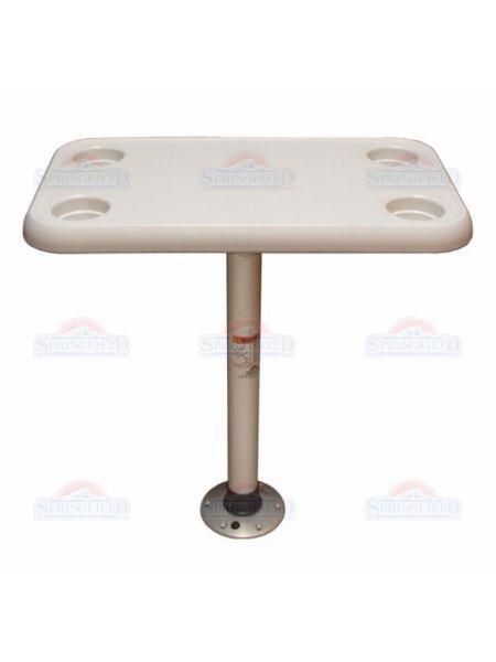Фото SF комплект стол прямоугольный 40х70см основание алюминий