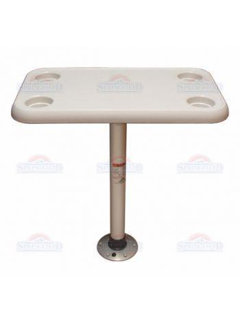 Фото SF стол прямоугольный 40х70см комплект основание пластик