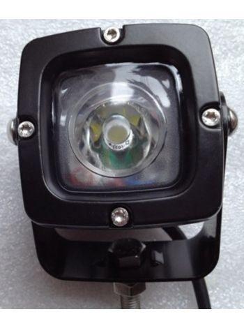 Фото Прожектор LED610 черный точечный 900lm 10W