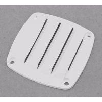 Решётка вентиляционная,белый пластик 76х76MM, С82021W