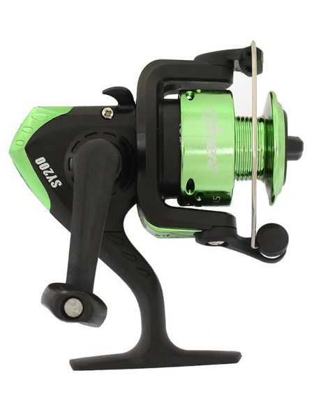 Катушка Fisher SY200 зеленая