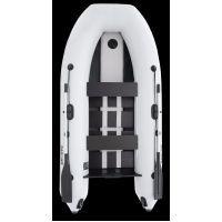 Надувная лодка Parsun 3м светло-серая, узкий привальник