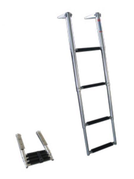 Фото Лестница 254х1150мм 4 ступени, 1103004 телескопическая