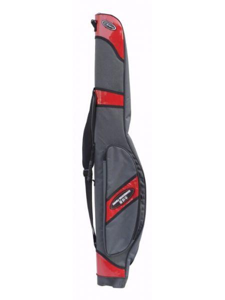 Чехол для удочек жесткий XB-E012 красный