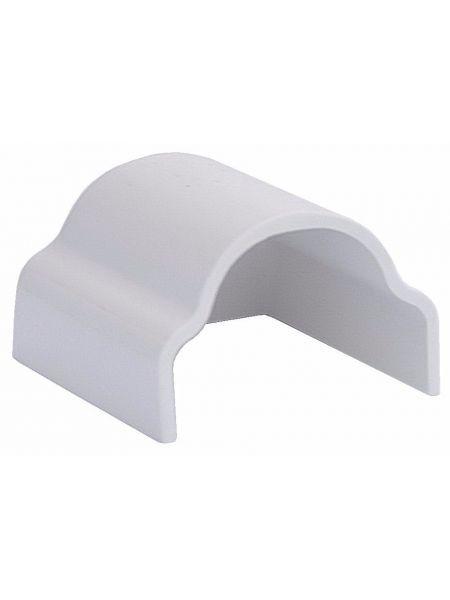 Концевик белый для привального бруса
