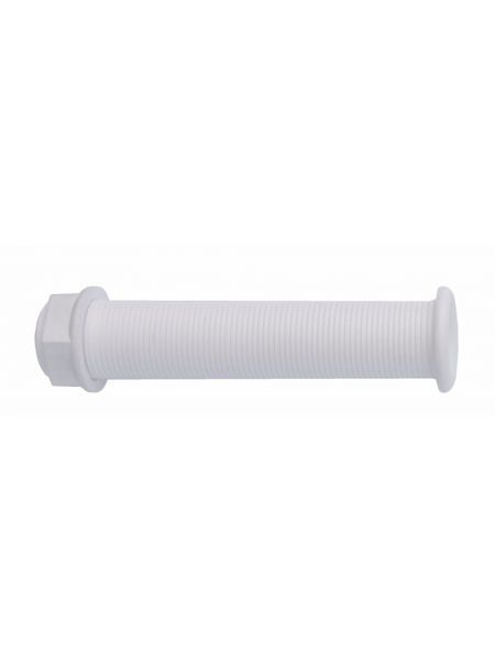 Штуцер водоотливной под распираемые пробки 22.7x150 mm белый