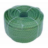 Веревка 30м 6мм зеленая, полиэстер, универсальная