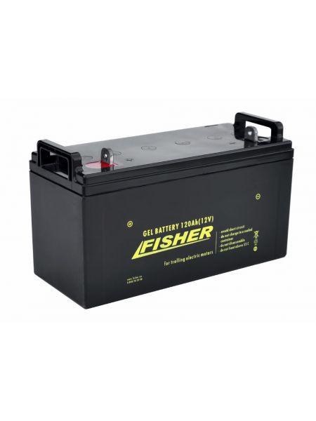 Гелевый аккумулятор120Ah Fisher 12B