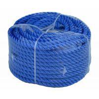 Веревка 30м 8мм синяя, полиэстер, универсальная