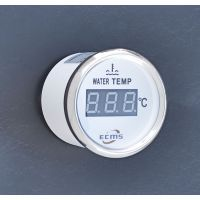 Цифровой датчик температуры  воды ECMS (белый)