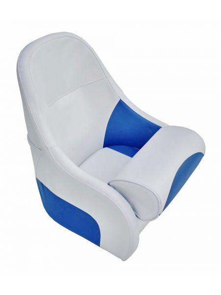 Кресло Flip up с крепежной пластиной серо-синее 13126