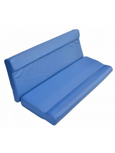 Задняя спинка для катера 120см синяя 1082051