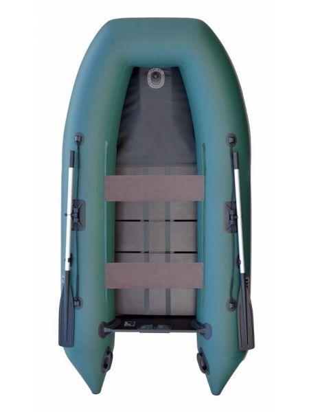 Лодка Parsun с псевдокилем new, закрытая передняя часть