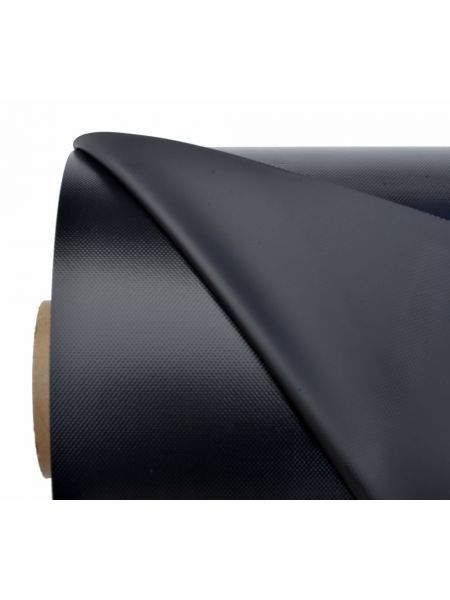Ткань ПВХ (PVC) 50х1,50м черная 1100гр