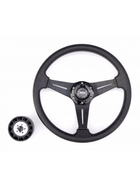 Руль PRETECH HD-5125D 350мм черный