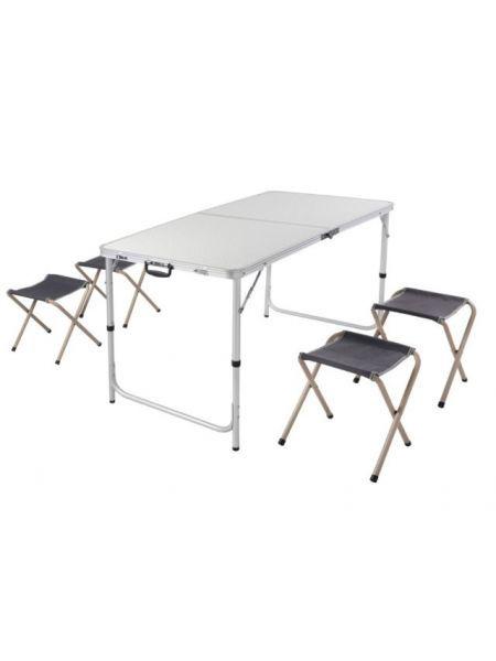 Комплект стол 120х60сми 4 стула PC1612S