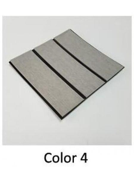 EVA искусcтвенный тик Color 4 (светло-серый тик, черная полоса)