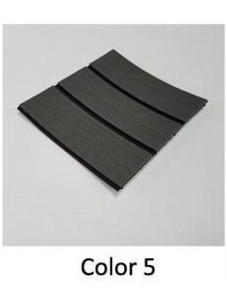 EVA искусcтвенный тик Color 5 (темно-серый тик, черная полоса)