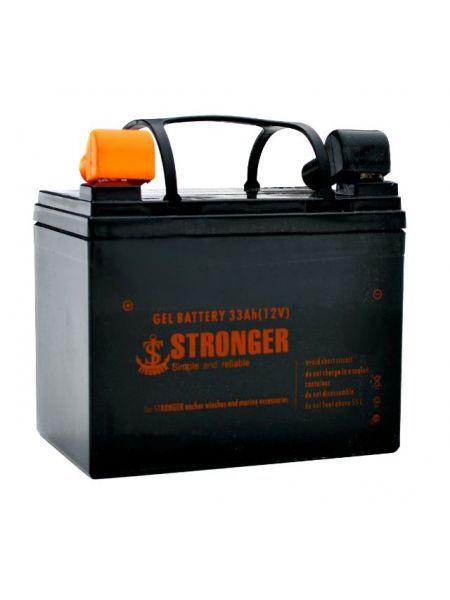 Гелевый аккумулятор Stronger 33Ah