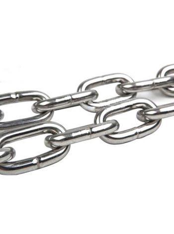 Цепь якорная SS316 DIN766 Chain 6mm (цена за 1м.п.)